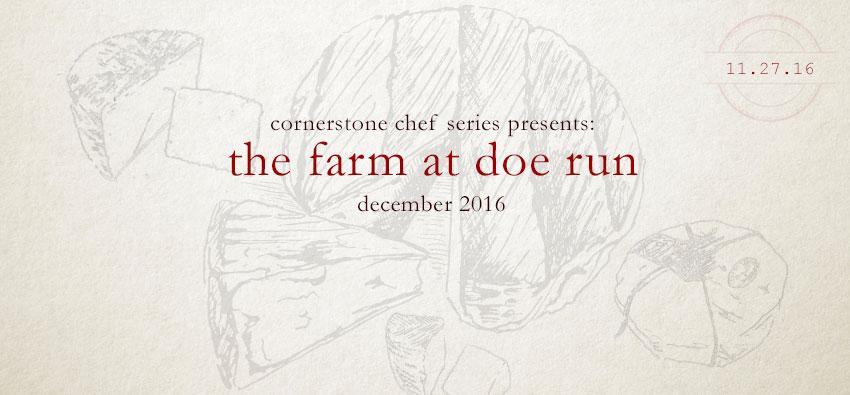 chef series: the farm at doe run