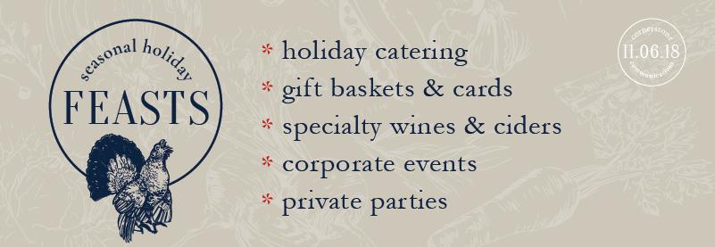 seasonal holiday feasts